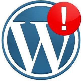 erreurs Wordpress