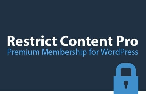 Restrict content Pro WordPress